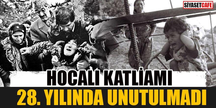Hocalı katliamı 28. yılında unutulmadı