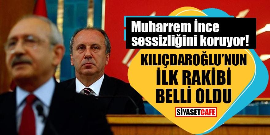 Olağan Genel Kurultay'da Kılıçdaroğlu'nun karşısına çıkacak ilk rakip belli oldu