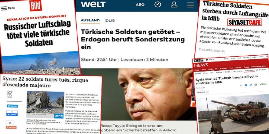 """Dünya basınından İdlib ve Türkiye değerlendirmesi; """"Savaşın seyri değişiyor"""""""