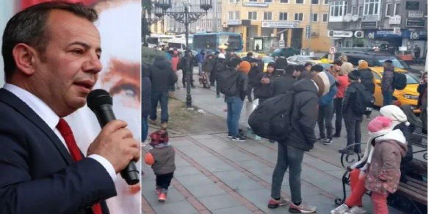 Bolu Belediye Başkanı Suriyelilere gitmeleri için otobüs kaldıracak