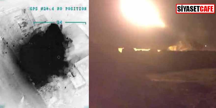 Türkiye'den Suriye'ye hava harekatı! Kimyasal harp tesisi vuruldu