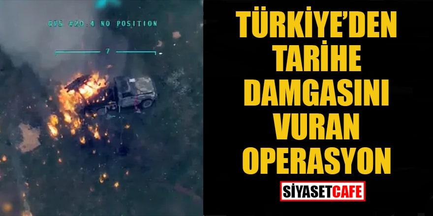 Türkiye'den tarihe damgasını vuran operasyon