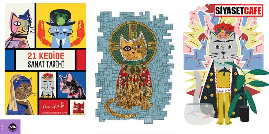 Kedilerle sanat tarihine yolculuk