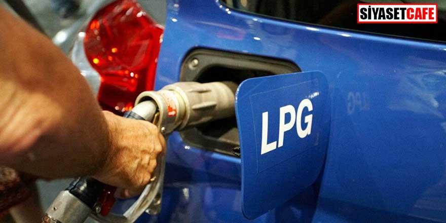 LPG oto gaza 22 kuruş zam geldi
