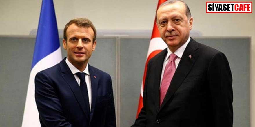 Erdoğan ve Macron'dan kritik görüşme! Mülteci sorunu konuşuldu