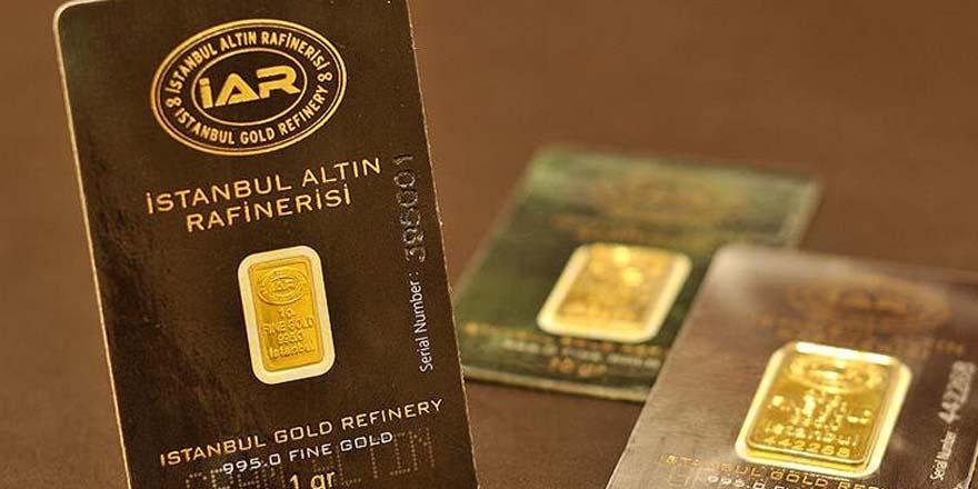 Gram altınının fiyatı bir günde 7 lira yükseldi