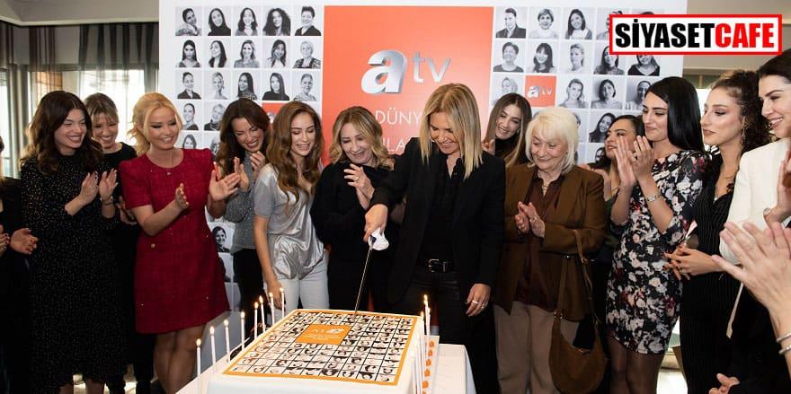 Atv'nin kadın çalışanları 8 Mart'ı kutladı