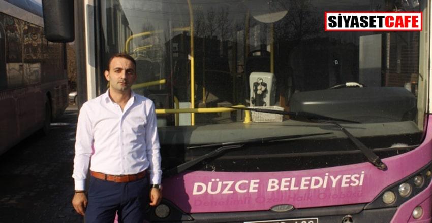 Fenalaşan yolcuyu otobüs ile acil servise götürdü!