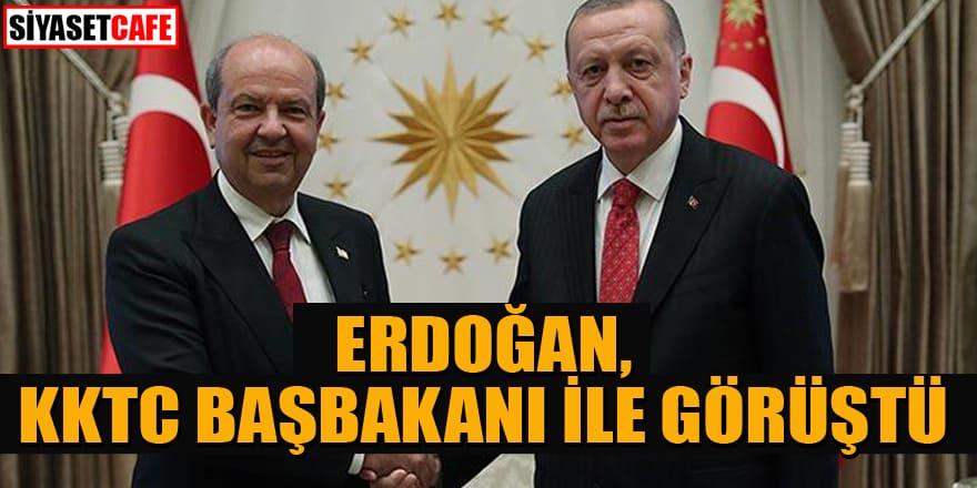 Erdoğan, KKTC Başbakanı Tatar ile görüştü