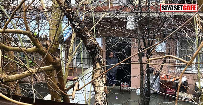 Ümraniye'de evi su bastı !