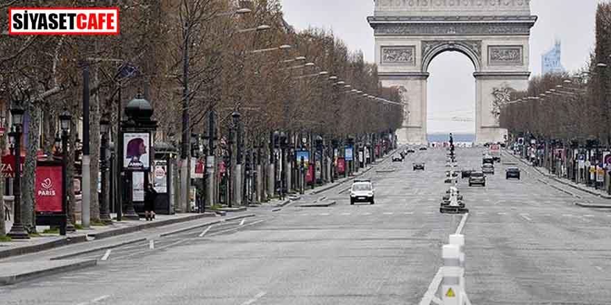 Fransa'da koronavirüs sebebiyle sokağa çıkma yasağı ilan edildi