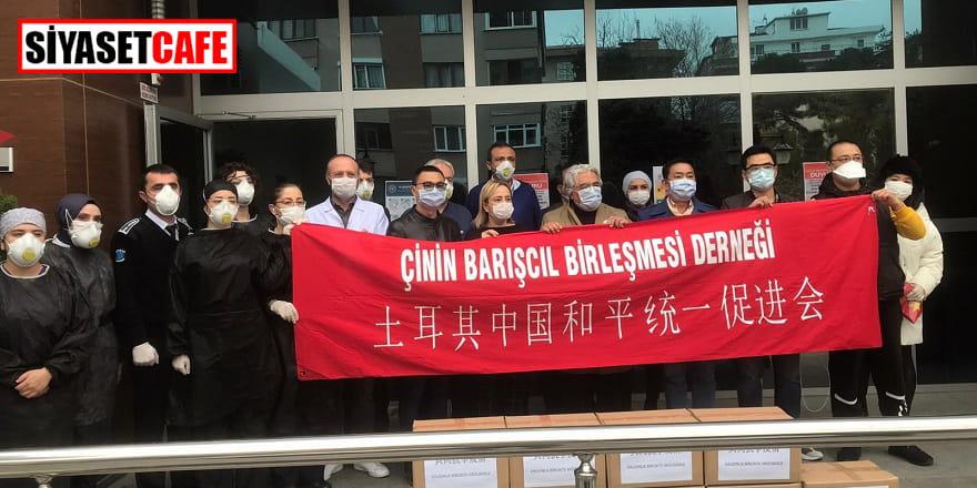 Çin'den Maltepe'ye 10 bin maske