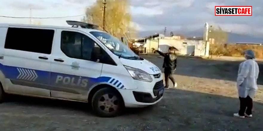 Iğdır'da karantinaya alınmak istenen bir kişi hastaneden kaçtı