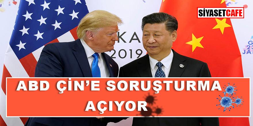 Son dakika! Amerika Birleşik Devletleri'nden Çin'e Corona virüs soruşturması