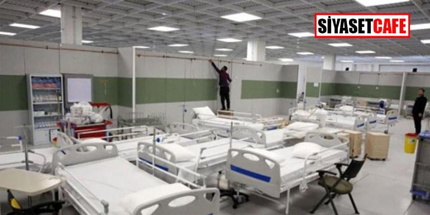 Dünyanın en büyük AVM'si Korona hastanesi oldu
