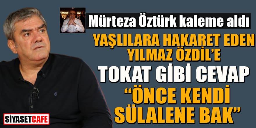 Mürteza Öztürk kaleme aldı: Yılmaz Özdil'i leylekler mi getirdi?