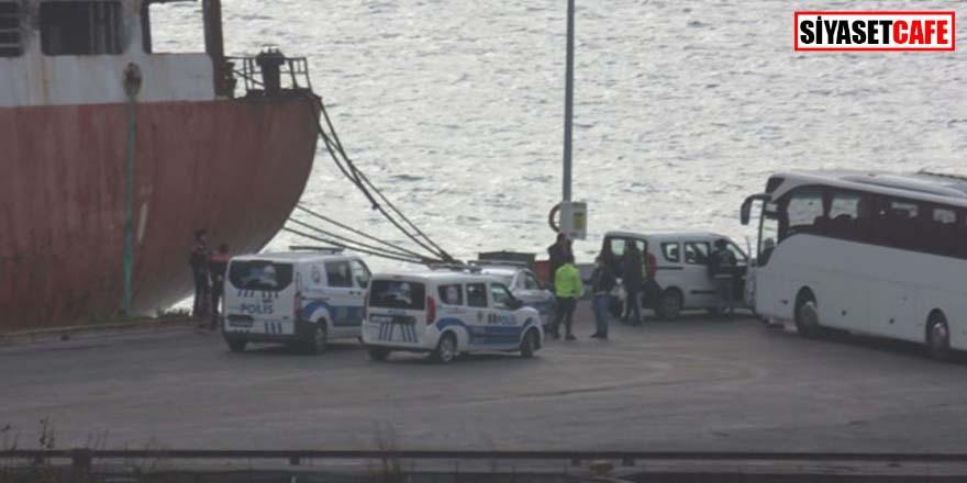 Haydarpaşa Limanı'nda koronavirüs alarmı! Ukrayna'dan gelen gemi karantinada
