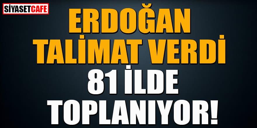 Erdoğan talimat verdi: Pandemi kurulları bugün toplanıyor