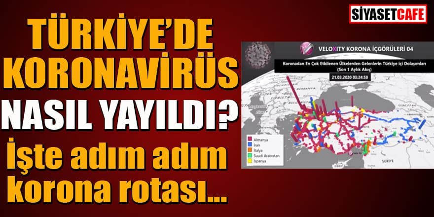 Koronavirüs Türkiye'ye nasıl yayıldı? İşte adım adım yayılma rotası