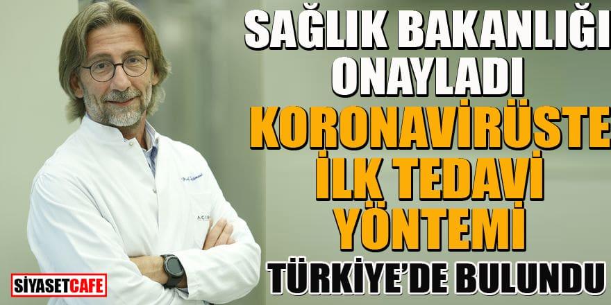 Türkiye'de koronavirüs tedavi yöntemini Sağlık Bakanlığı onayladı
