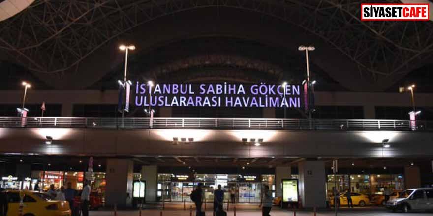 Sabiha Gökçen'de yurt içi ve yurt dışı bütün uçuşlar iptal