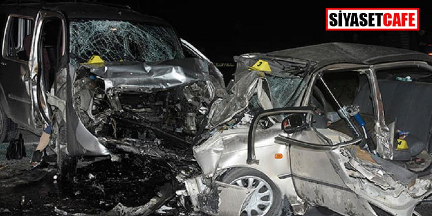 Konya'da feci kaza: 4 ölü, 4 yaralı!
