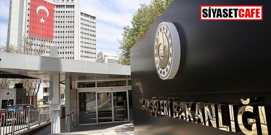 Dışişleri Bakanlığı'ndan, Kosova'nın hamlesine tepki