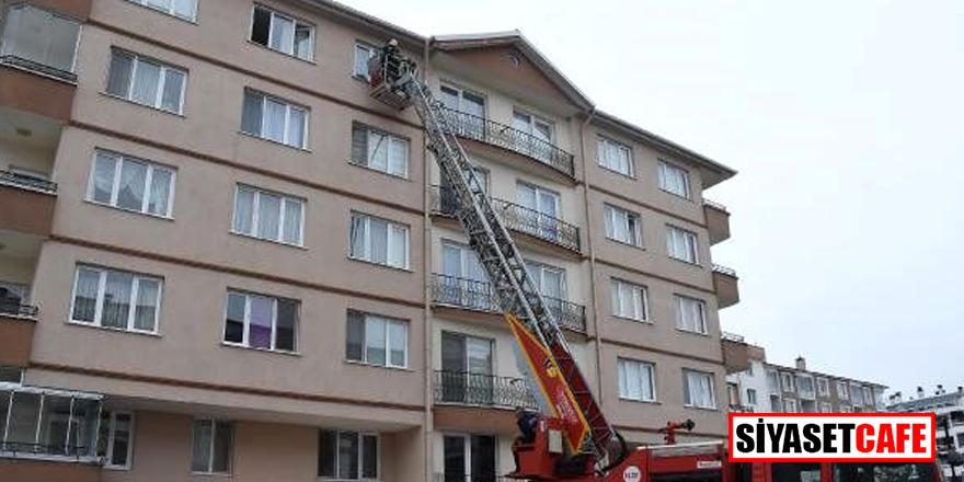 Kütahya'da korona korkusuyla 5. kattan atlayan genç mimar öldü