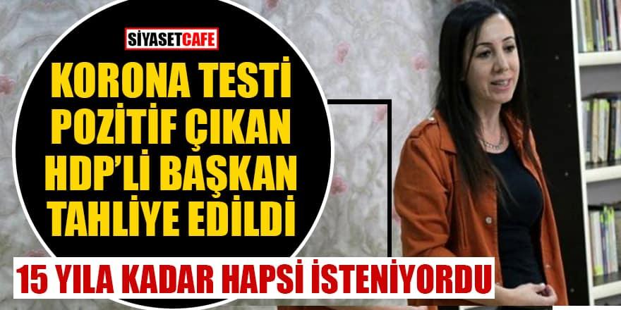 Koronavirüs testi pozitif çıkan HDP'li başkan tahliye edildi