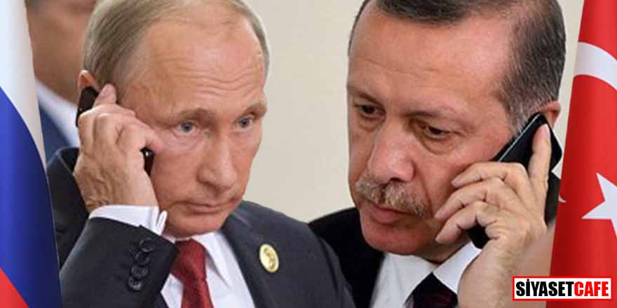 Erdoğan ve Putin arasında kritik görüşme!