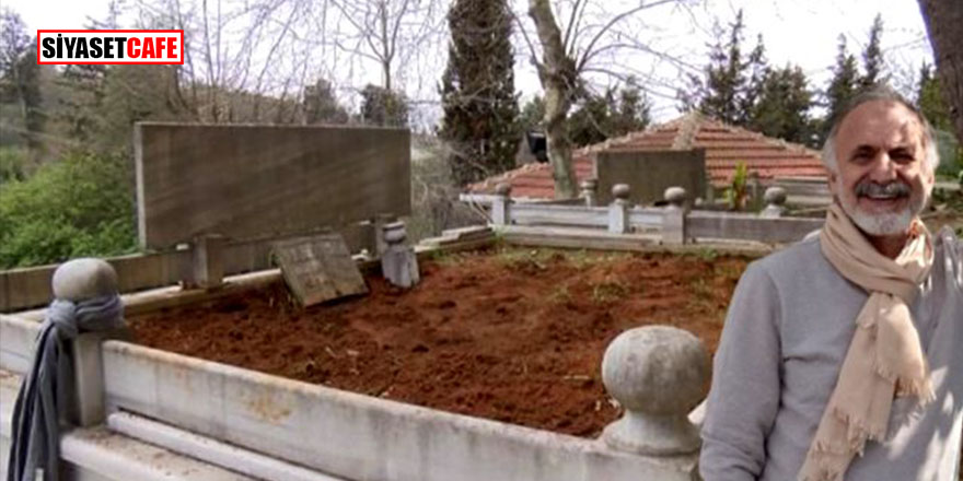 Salgında hayatını kaybeden profesörün mezarında dikkat çeken detay