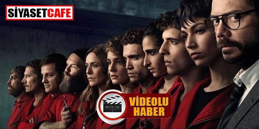 La Casa De Papel'in 4.sezonu ne zaman ekrana gelecek?