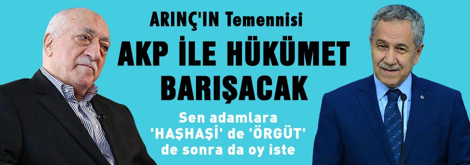 AKP ile Cemaatin arası düzelecek