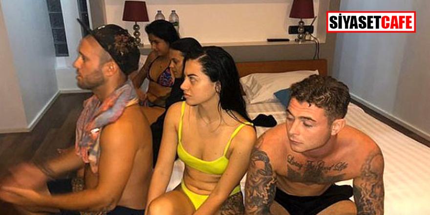 Virüse aldırış etmeyen turist grup c*nsel ilişki partisi düzenledi