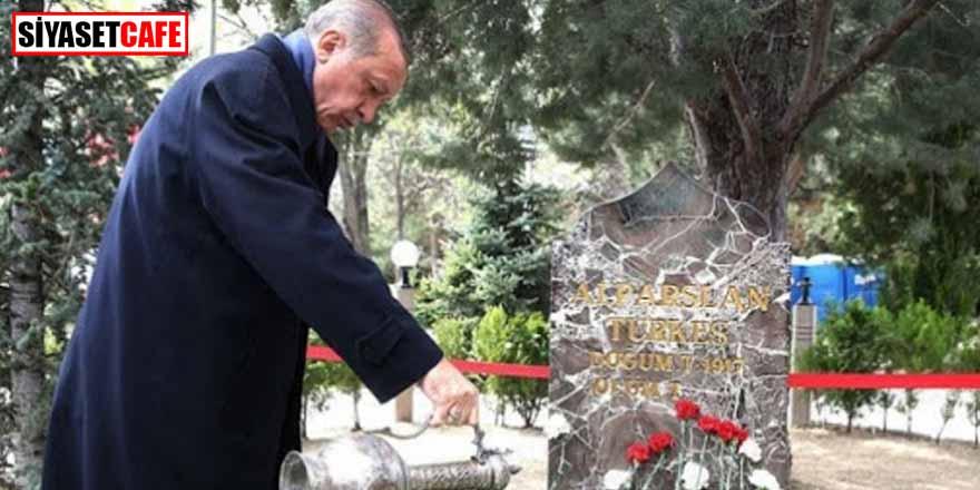 Erdoğan vefatının 23. yılında Türkeş'i andı!