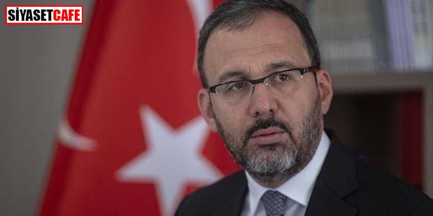 Bakan Kasapoğlu açıkladı! KYK karantinasında kaç kişi var?
