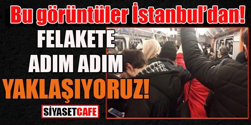 Bu görüntüler İstanbul'dan: Felakete adım adım yaklaşıyoruz!