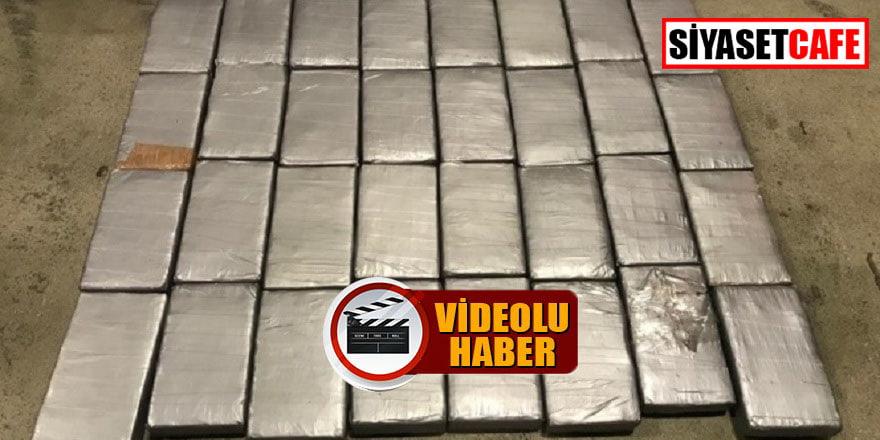 Mersin'den bir gemide 47 kilo kokain geçirildi