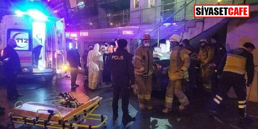 Avcılar'da AVM girişinde kaza: 3 yaralı