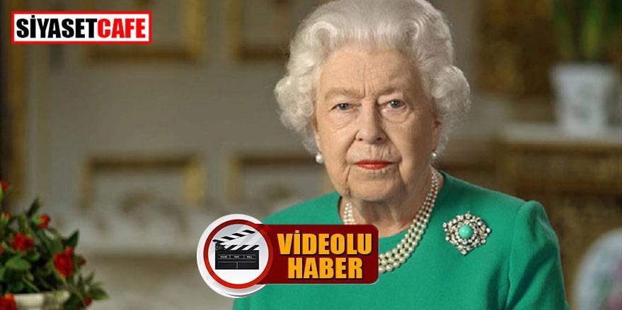 İngiltere Kraliçesi beklenen konuşmasını yaptı