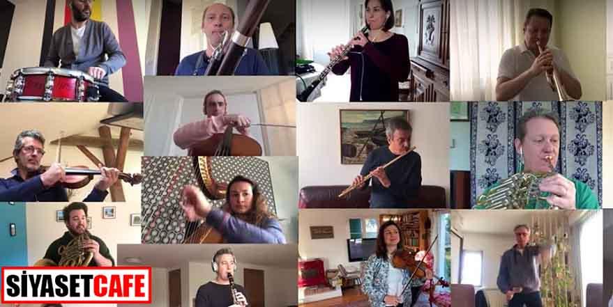 Fransa Ulusal Orkestrası'ndan ev konseri