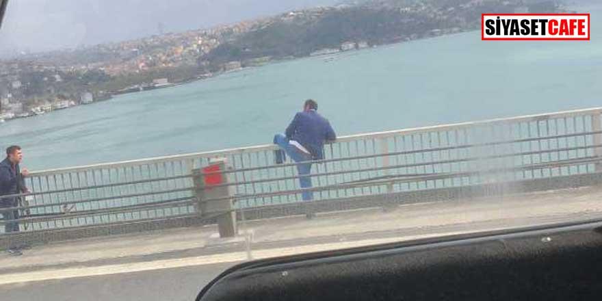 Son dakika...FSM Köprüsü'nde intihar girişimi!