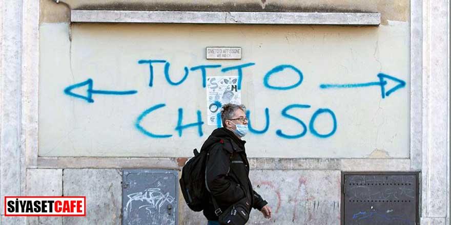 İtalya'da son 24 saatin koronavirüs bilançosu açıklandı