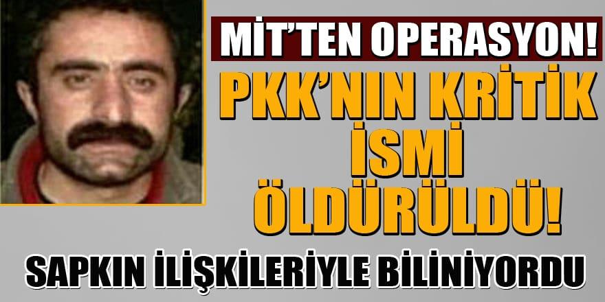 MİT'ten operasyon! PKK'nın kritik ismi Fadıl Ekinci öldürüldü
