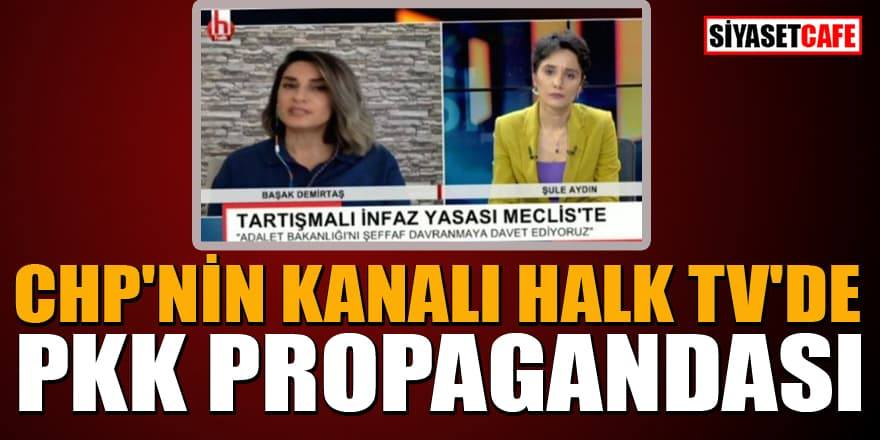 CHP'nin kanalı Halk Tv'de PKK'lı terörist propagandası
