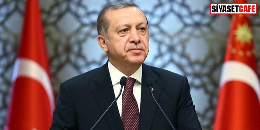 Erdoğan'dan 'Milli Dayanışma Kampanyası' teşekkürü