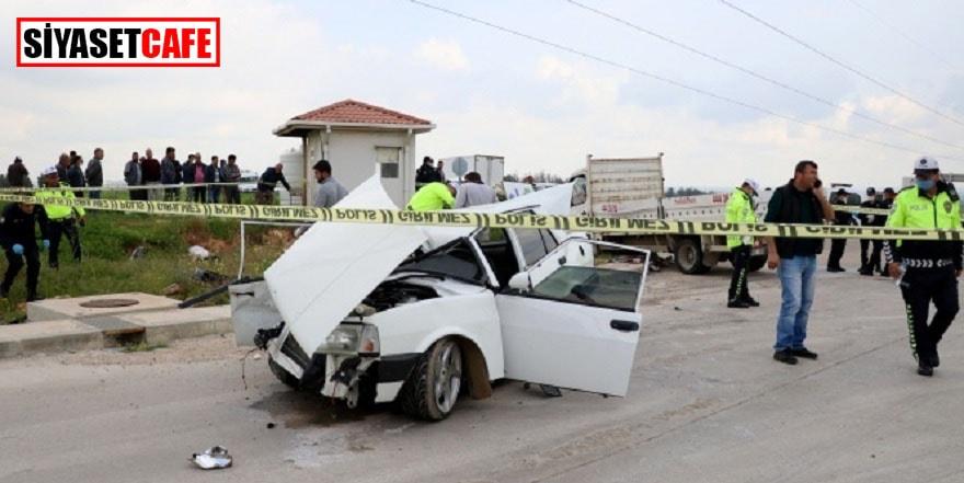Adana'da feci kaza: 3 ölü, 2 yaralı