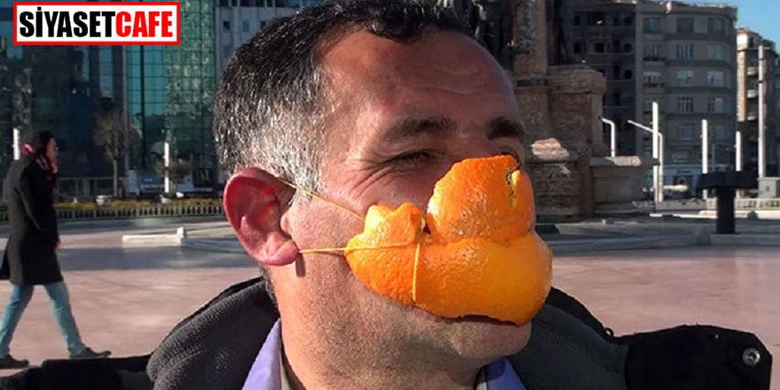 Böyle maske görülmedi!