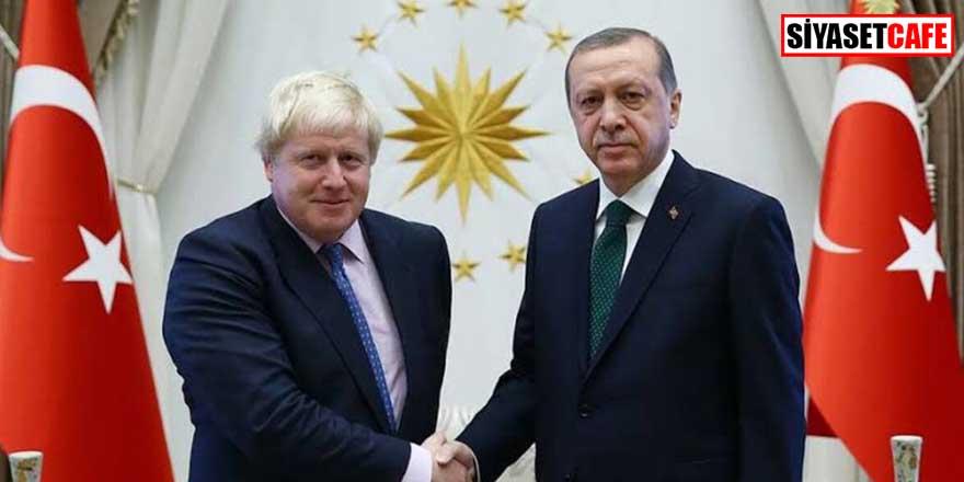 Erdoğan'dan İngiltere Başbakanı Boris Johnson'a mektup