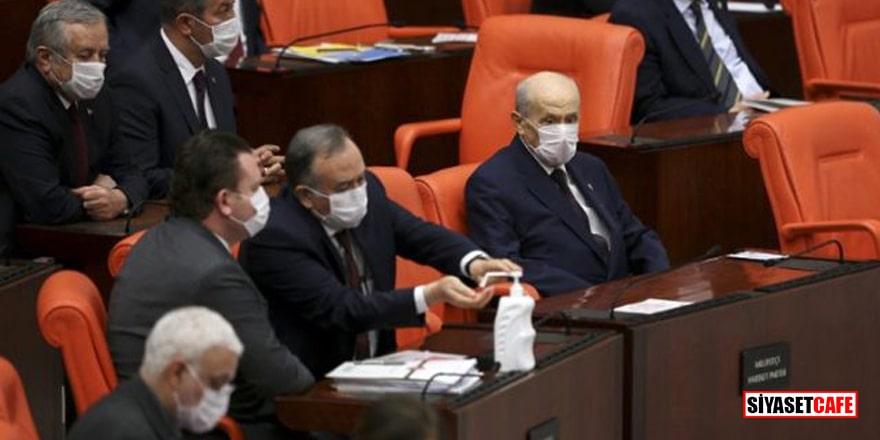 Bahçeli, Meclis'teki infaz yasası görüşmelerine katıldı